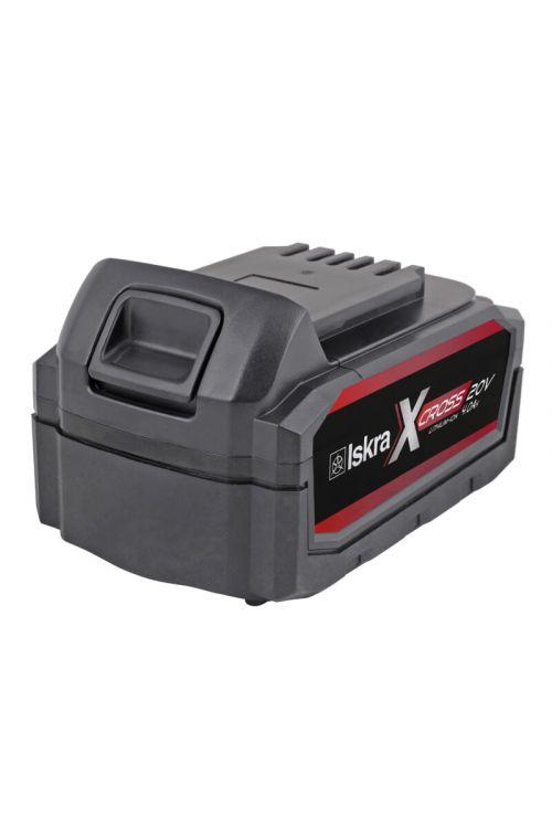 Li-Ionska akumulatorska baterija ISKRA IX-20V-4.0 Ah X-CROSS (20 V, zmogljivost: 4,0 Ah)