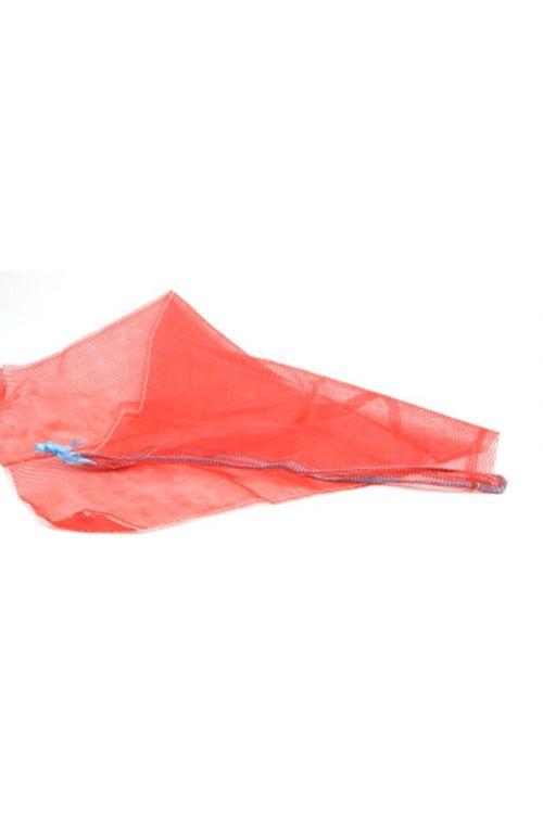Mrežasta vreča (50 x 80 cm, rdeča, 10 kosov)