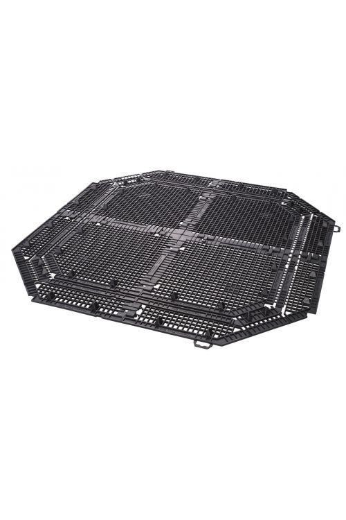 Talna mreža kompostnika ECO King 400 l (plastika, črna)