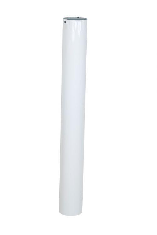 Dimna cev (Ø 120 x 1000 x 0,6 mm, bela)