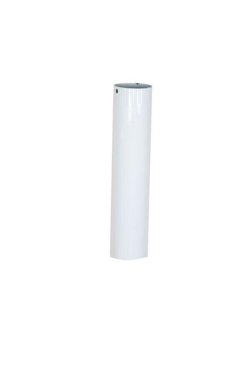 Dimna cev (Ø 120 x 500 x 0,6 mm, bela)