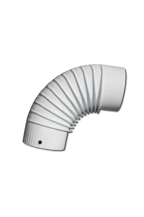 Dimno koleno (Ø 120 mm, 90°, belo)
