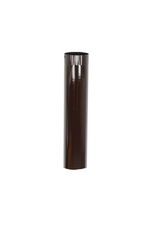 Dimna cev (Ø 120 x 500 x 0,6 mm, rjava)