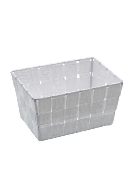 Košarica za shranjevanje Wenko Adria Mini (19 x 9 x 14 cm, bela, polipropilen)