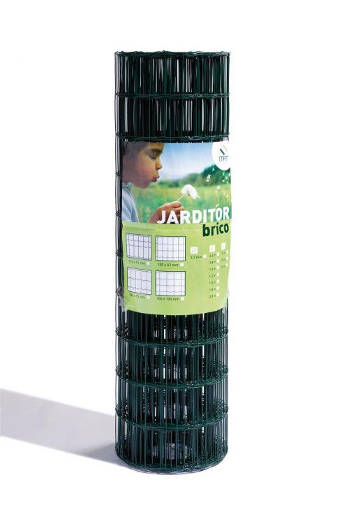 Ograja Jarditor brico 1x25 m,100x50x2,2 mm (zelena, 1000 mm x 50 m, debelina mreže 1,6 mm /2,10 mm)