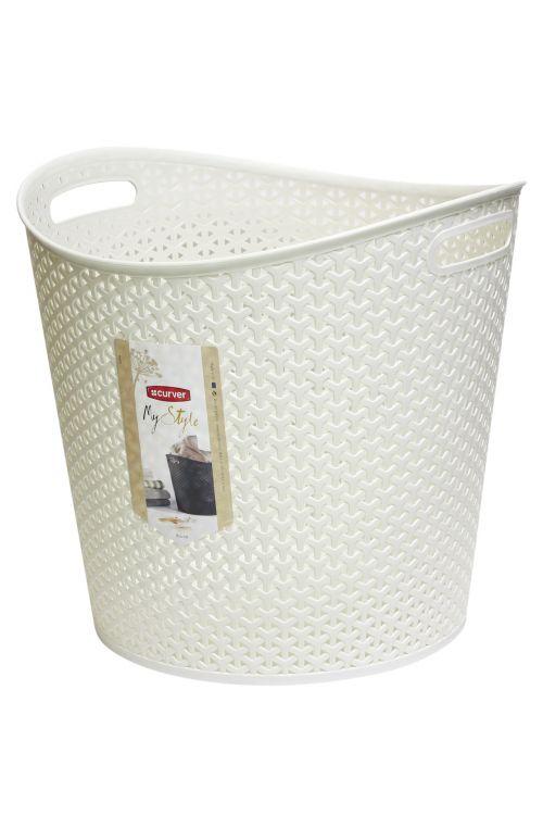 Košara za perilo CURVER My Style (390 x 370 x 390 mm, 30l)