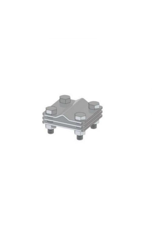 Križni konektor za strelovod (58 mm x 58 mm)