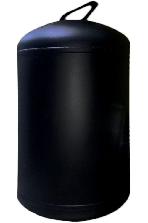 Grelnik vode - solarni (80 l, črni emajl, 60 x 42 x 42 cm)