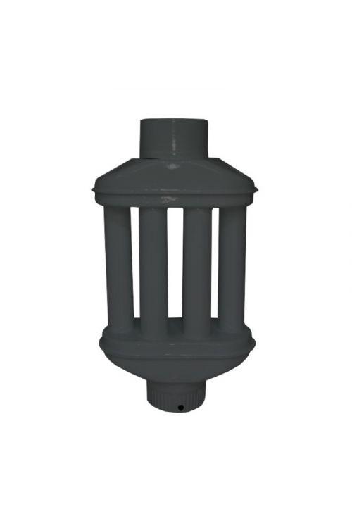 Dimni grelec (Ø 120 mm x 500 mm, črn)