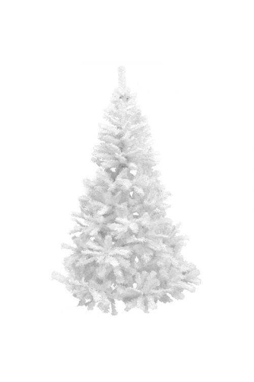 Umetno božično drevo (PVC, belo, 180 cm)