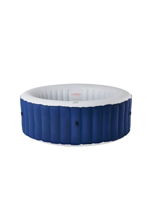 Masažni bazen MSpa Lite (š 204 x v 70 cm, za 6 oseb, 138 masažnih šob, črpalka 1.325 l/h, moč ogrevanja 1,5 kW, moder)