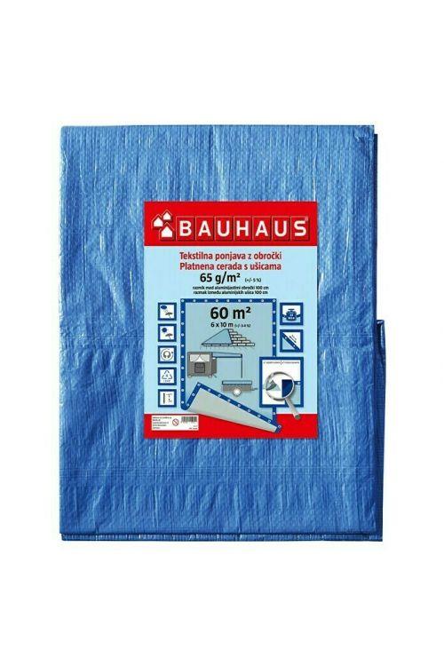 Pokrivna ponjava 65 g/m2 (6 x 10 m, modra)