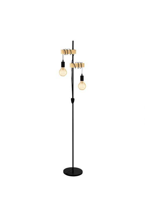 Stoječa svetilka EGLO Townshend (2 x 10 W, višina: 166,5 cm)