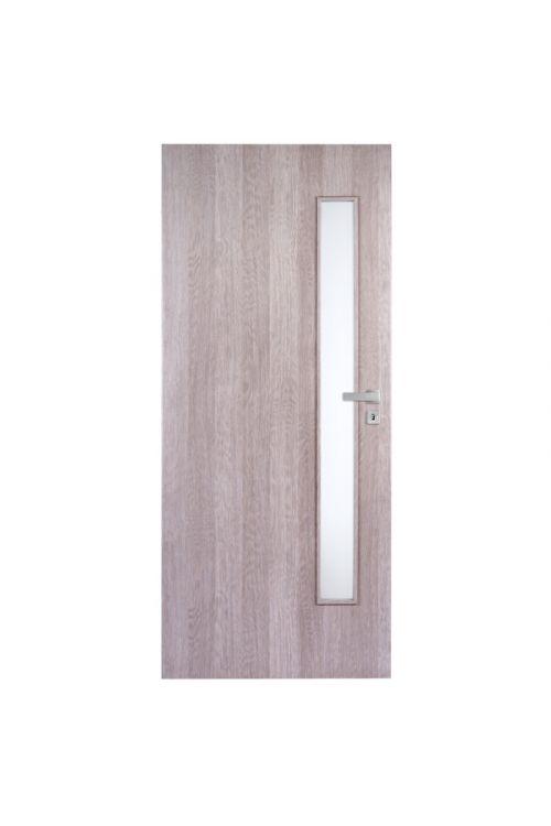 Notranja vrata Doornite Vetro (39 x 850 x 2000 mm, leva, beli hrast)