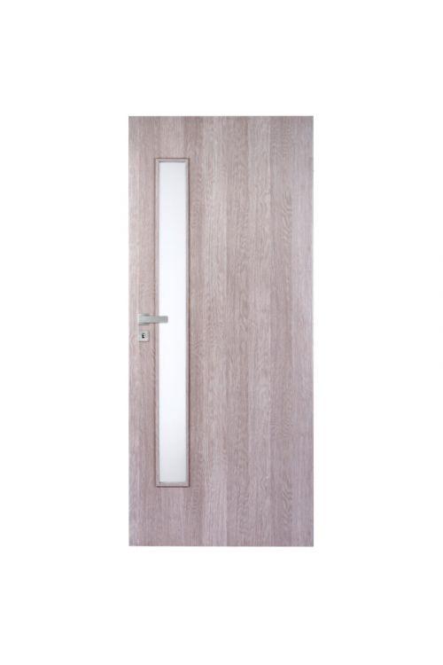 Notranja vrata Doornite Vetro (39 x 850 x 2000 mm, desna, beli hrast)
