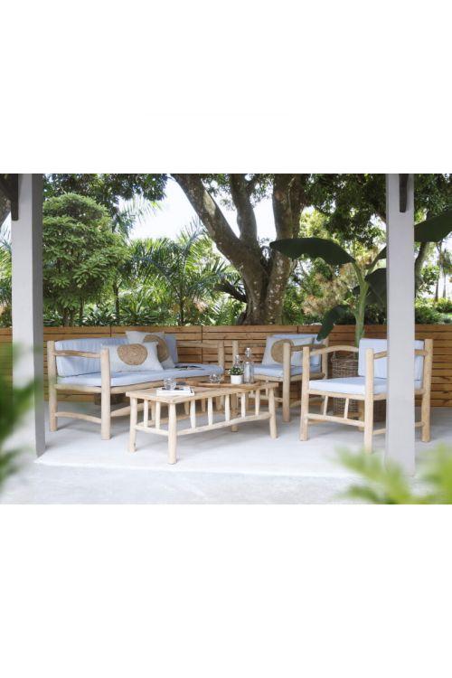Lounge set Sunfun Sumba (4-delni, tikovina)