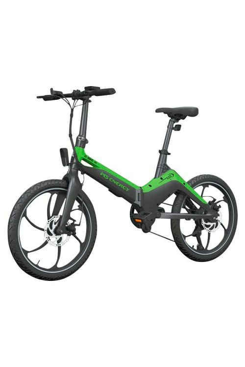 "Električno kolo MS ENERGY e-bike i10 (250 W, 20"", zložljiv, črno-zelene barve)"