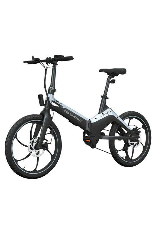 "Električno kolo MS ENERGY e-bike i10 (250 W, 20"", zložljiv, črno-sive barve)"