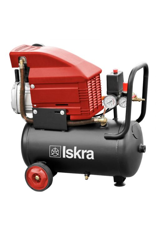 Batni kompresor Iskra FDL24 (1.500 W, 8 barov, 24 l)