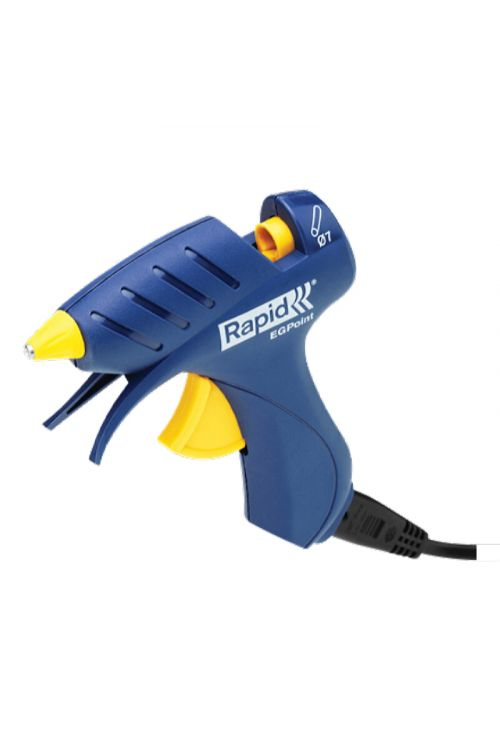 Majhna pištola za vroče lepljenje Rapid Point (premer lepilnega vložka: 7 mm, čas segrevanja: 5 min)