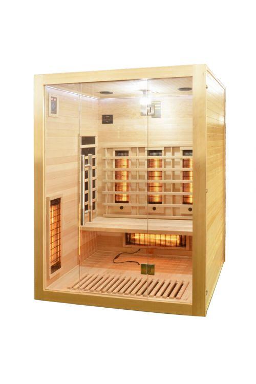 Infrardeča savna Open (2445 W, 9 seval, 150 x 120 x 200 cm)