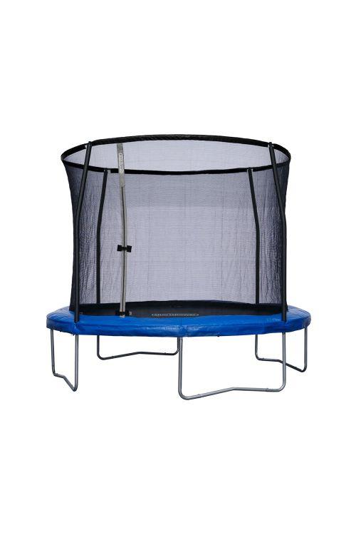 Trampolin Sportspower (premer: 305 cm, 4 noge, modre barve)