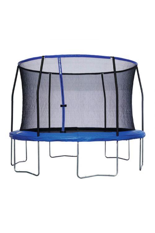 Trampolin Sportspower (premer: 366 cm, 6 nog, modre barve)