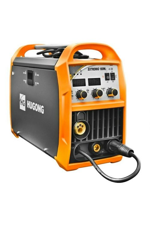 Varilni aparat HUGONG EXTREME MIG180 (varilni tok: 20–180 A, debelina elektrode: 1,6–3,2 mm)
