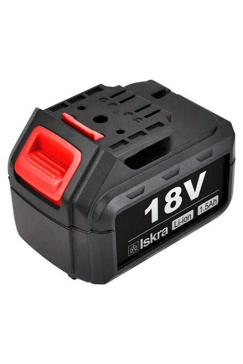 Baterija za akumulatorski vrtalnik Iskra ML-CD92-180 (18 V, 1,5 Ah)