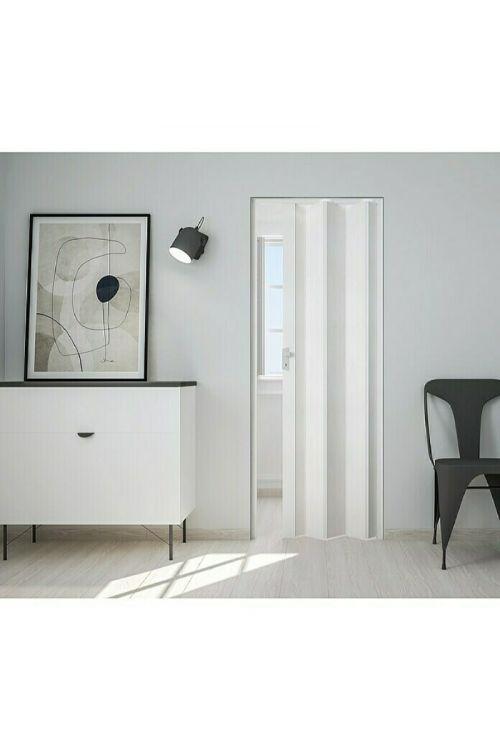 Harmonika vrata Marley Rapido (2040 x 830 x 8 mm, umetna masa, bela)