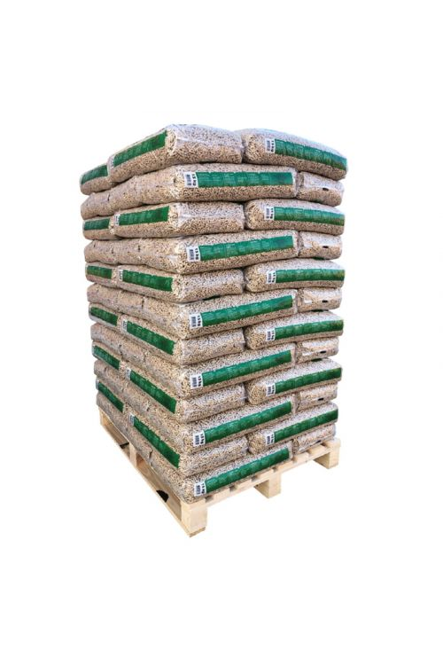 Lesni peleti Bauhaus (cela paleta z dostavo, 100 % smrekov les, 72 x 15 kg)