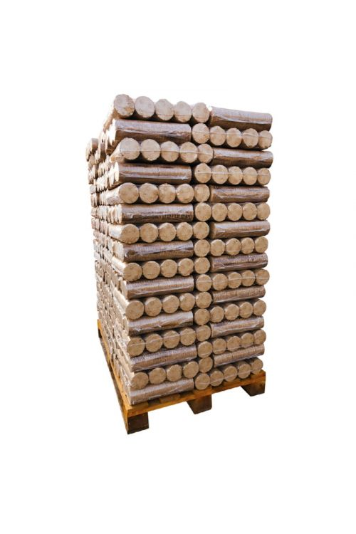 Lesni briketi Bauhaus EXTRA (cela paleta z dostavo, 100 % bukev, 96 x 10 kg)