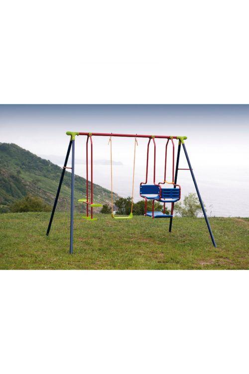 Otroška gugalnica (gondola/konjiček/deska, 250 x 180 x 200 cm)