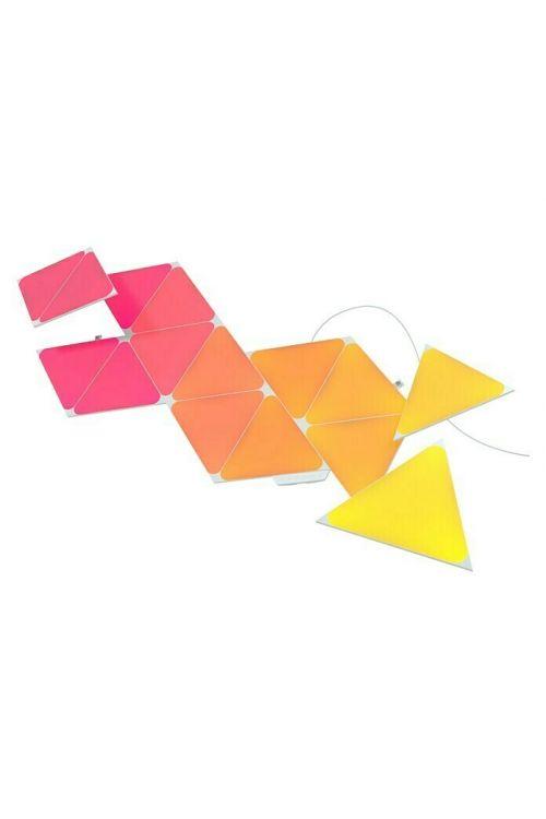 Začetni set Nanoleaf LED trikotniki 2. generacija (d 23 cm x š 20 cm x v 0,6 cm, 15-delni)