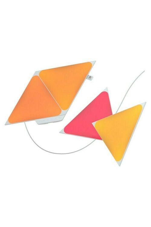Začetni set Nanoleaf LED trikotniki 2. generacija (1,7 W, d 23 cm x š 20 cm x v 0,6 cm, 4-delni)