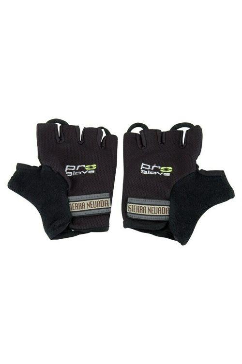 Kolesarske rokavice Fischer (S/M, črne barve)