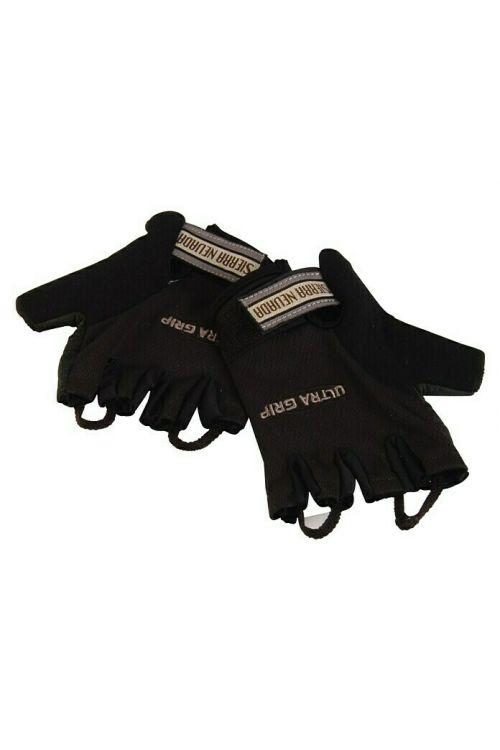 Kolesarske rokavice Fischer (L/XL, črne barve)