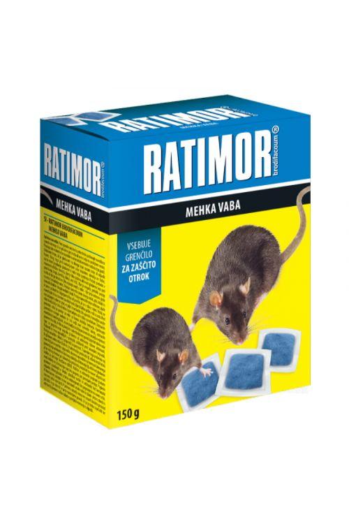 Mehka vaba za glodavce Ratimor (150 g)