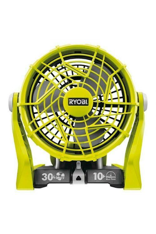 Akumulatorski ventilator Ryobi ONE+ R18F-0 (18 V, brezžični, zelen)