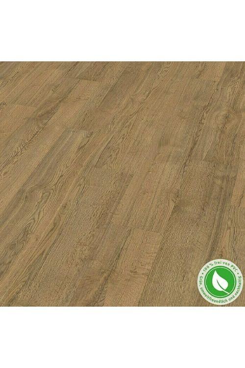 Dizajnerska talna obloga Egger Home Design Floor GreenTec Elva Braun (1292 x 193 x 7,5 mm, hrast)