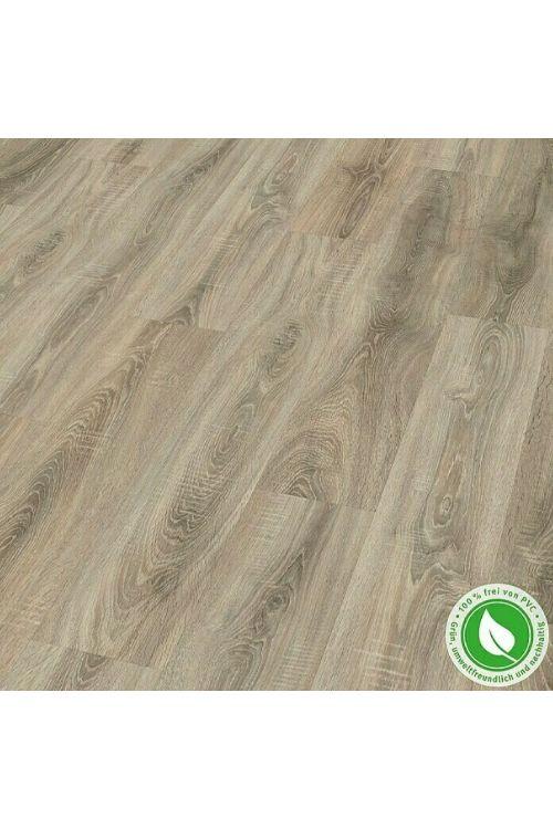 Dizajnerska talna obloga Egger Home Design Floor GreenTec Sägerau Grau (1292 x 193 x 7,5 mm, hrast)