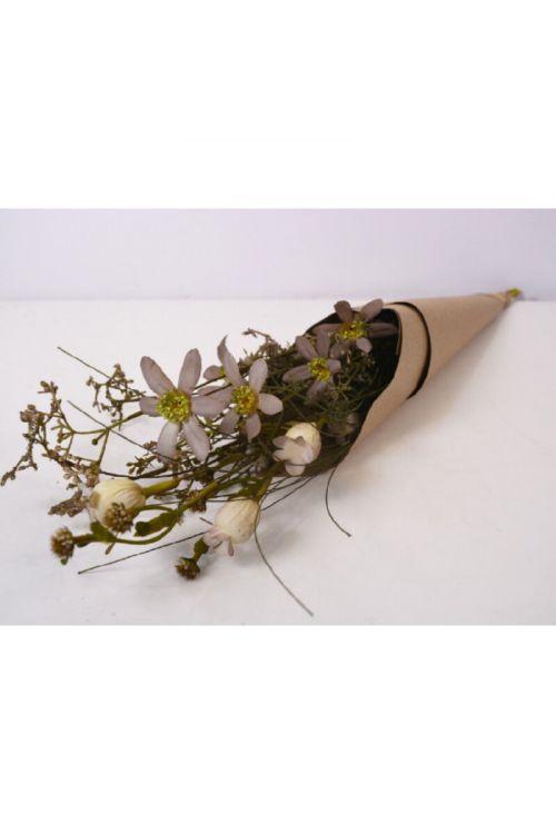 Šopek umetnega cvetja (63 cm, umetna masa in papir)