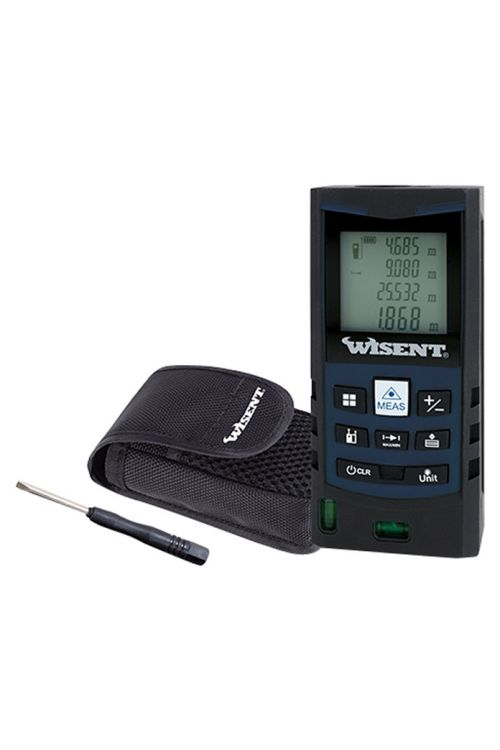 Laserski merilnik Wisent (natančnost: ± 2 mm, merilno območje: 0,2–40 m)