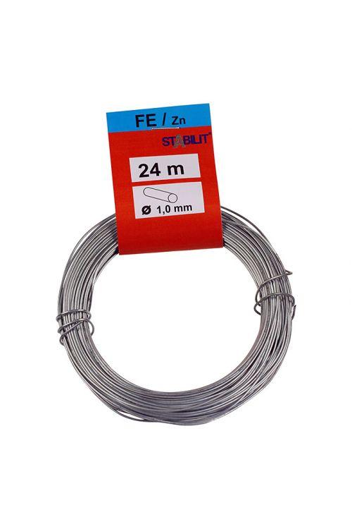 Železna žica Stabilit (Ø x D: 1 mm x 24 m, pocinkana)