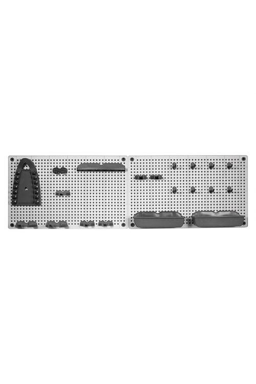 Komplet luknjastih sten za organizacijo orodja KIS (22-delni)