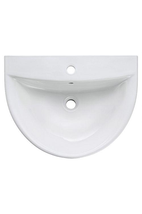 Umivalnik Sydney, Camargue (bela, keramika, 46 x 60 cm)