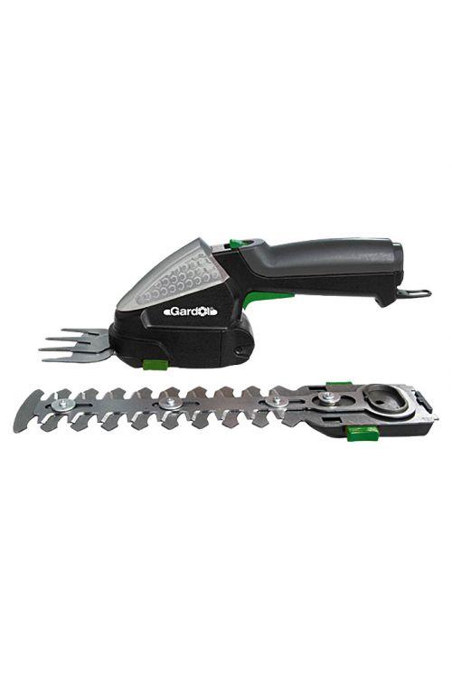Komplet akumulatorskih škarij za travo in grmičevje Gardol GGSI 180 (7,2 V, li-ionski, 2,2 Ah, 1 akumulator, širina rezila: 8 cm, čas delovanja akumulatorja: pribl. 180 min