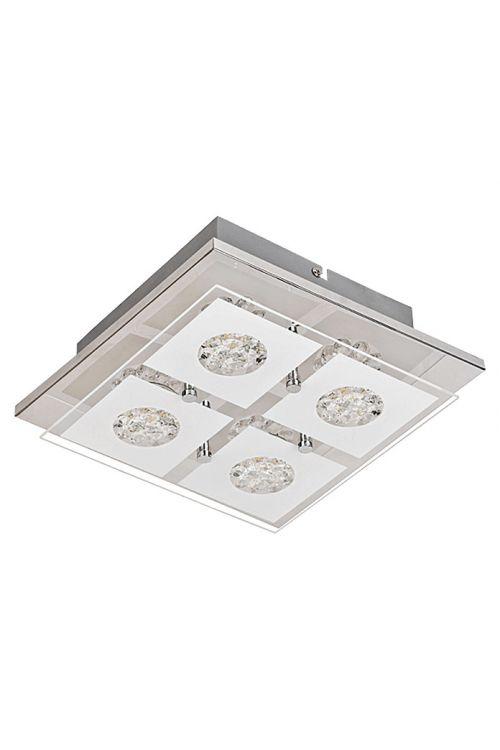 Stropna LED-svetilka Tween Light Vesio (4 svetila, energetski razred: A+, maks. moč: 12,8 W, krom)