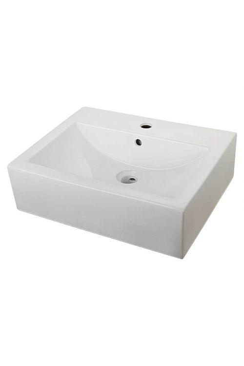 Umivalnik Camargue Scirocco (42 x 53 x 16 cm, keramični, beli)