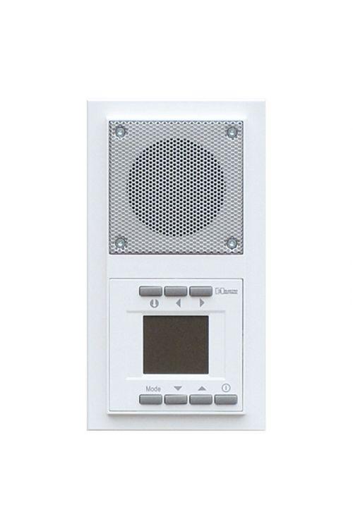 Podometni radio Voltomat ART (snežno bela, dvojni, umetna masa)
